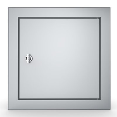 "Signature Series Beveled Style 12"" x 12"" Utility Access Door - Item No. BA-SD12"