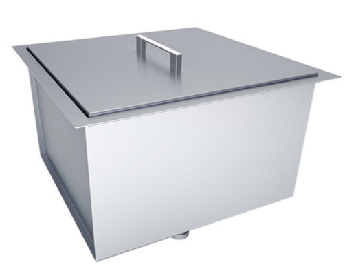 "Over/Under 20"" x 12"" Height Single Basin Sink w/Cover Item No.B-SK20"