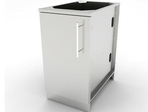 "18"" Full Height Left Swing Door Cabinet w/Shelf  - Item No. SBC18FSDL"