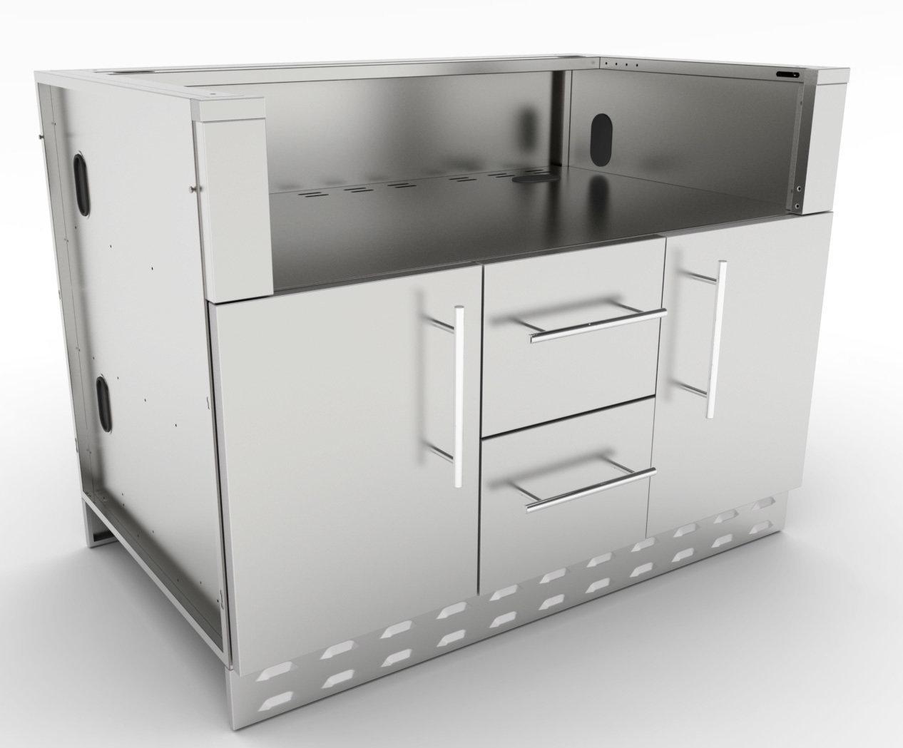"46"" Sunstone Gas Grill Base Cabinet  - Item No. SAC46GLPCD"