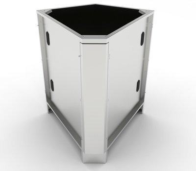 30 Degree Corner Cabinet w/Utility Access  - Item No. SBC5C30
