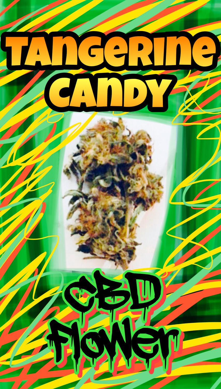 Tangerine Candy smokeable CBD Flower