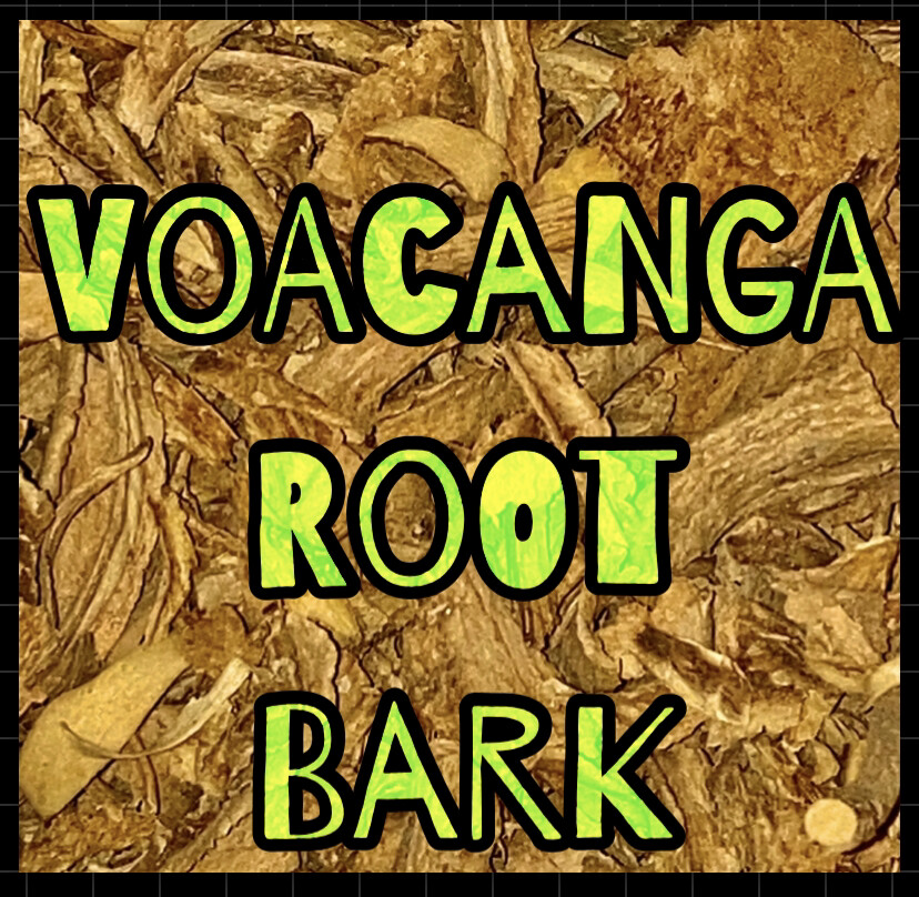Voacanga Root Bark- 1 Oz