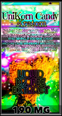 Liquid Kroffee Gold Rush Extract 190mg