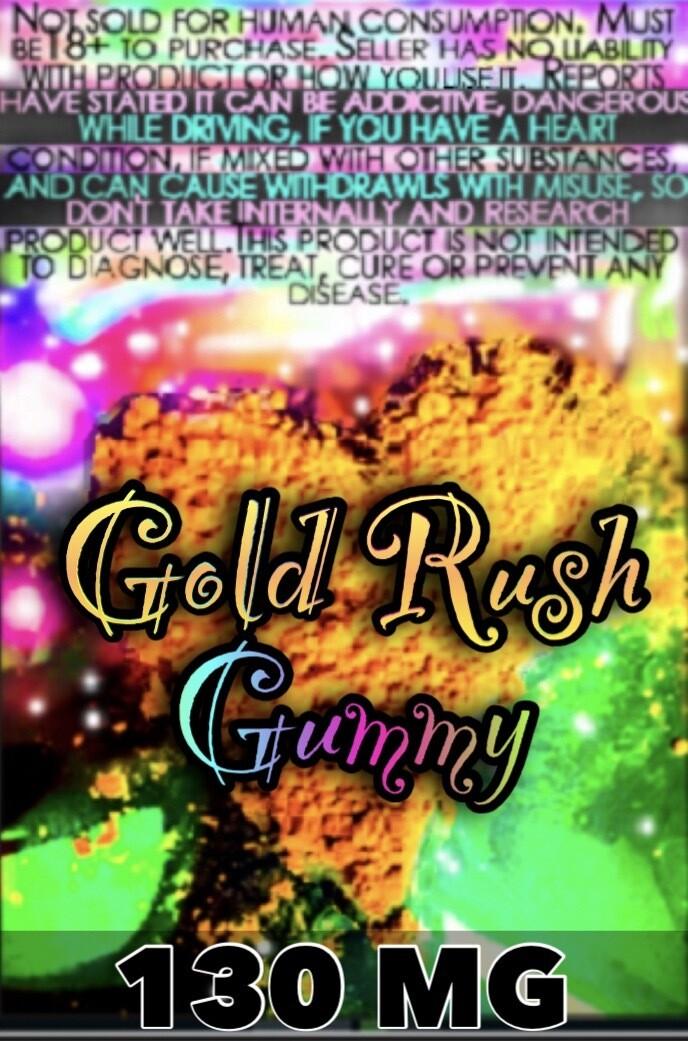 Gummy Gold Rush- 130mg