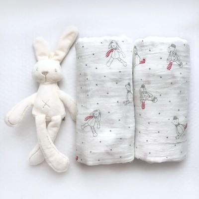 Муслиновая пеленка «Нежные игрушки»