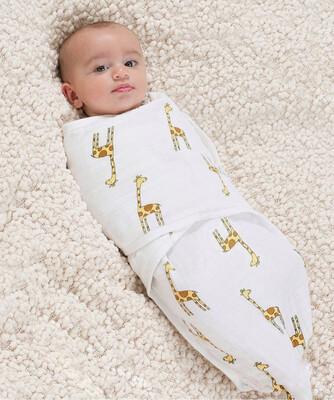 Муслиновая пеленка «Жирафы»