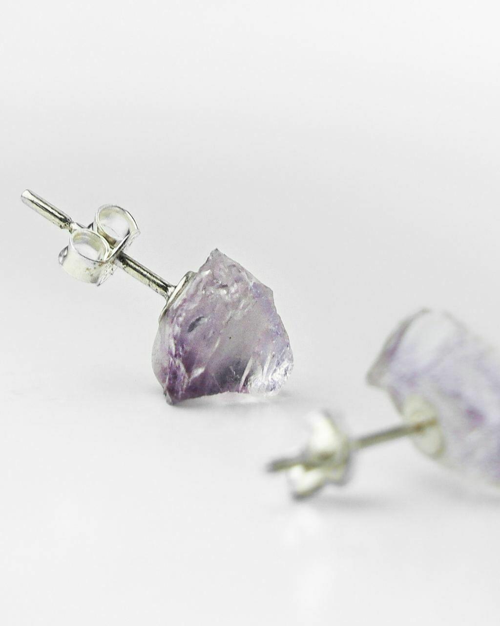 """Сережки """"Фрея"""" лавандовий аметист, срібло 925."""