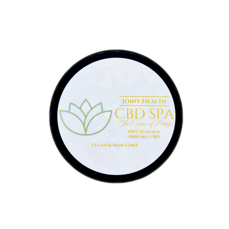 1000 mg CBD Spa Broad Spectrum CBD Joint Health Salve - 2 oz
