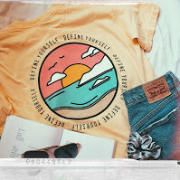 The Sunset Tee (Yellow)