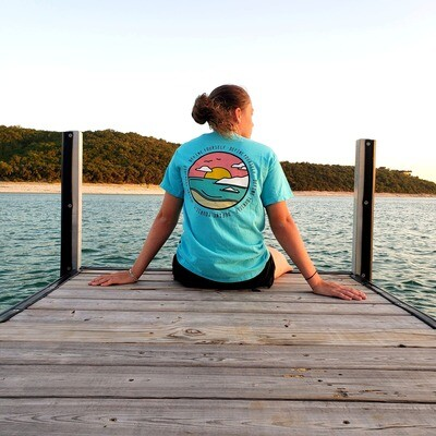 The Sunset Tee (Blue)