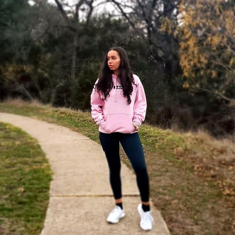 The Sweatshirt in Pink (Unisex)