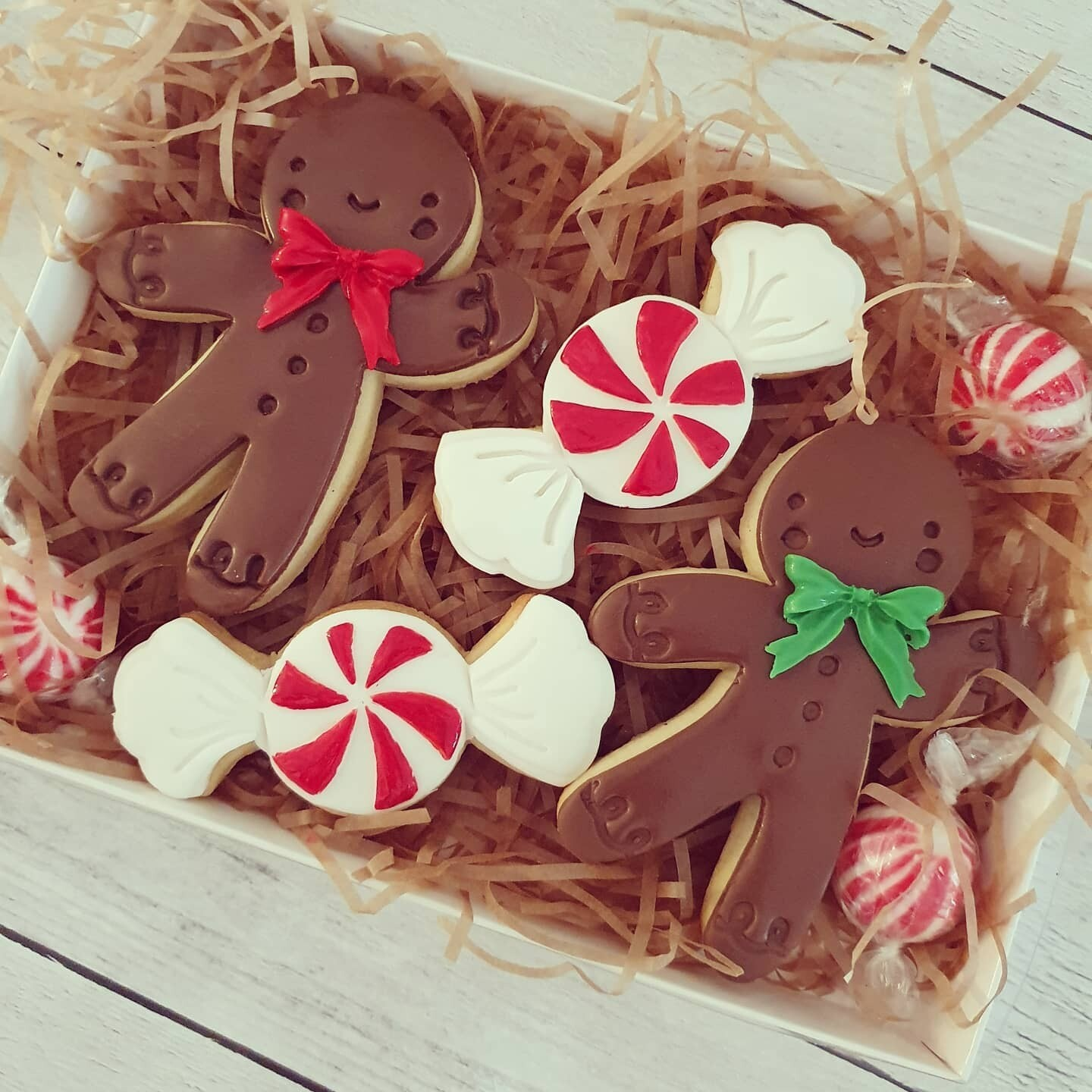 Christmas Candy and Gingie Land 2020 Cookies - 4 pack