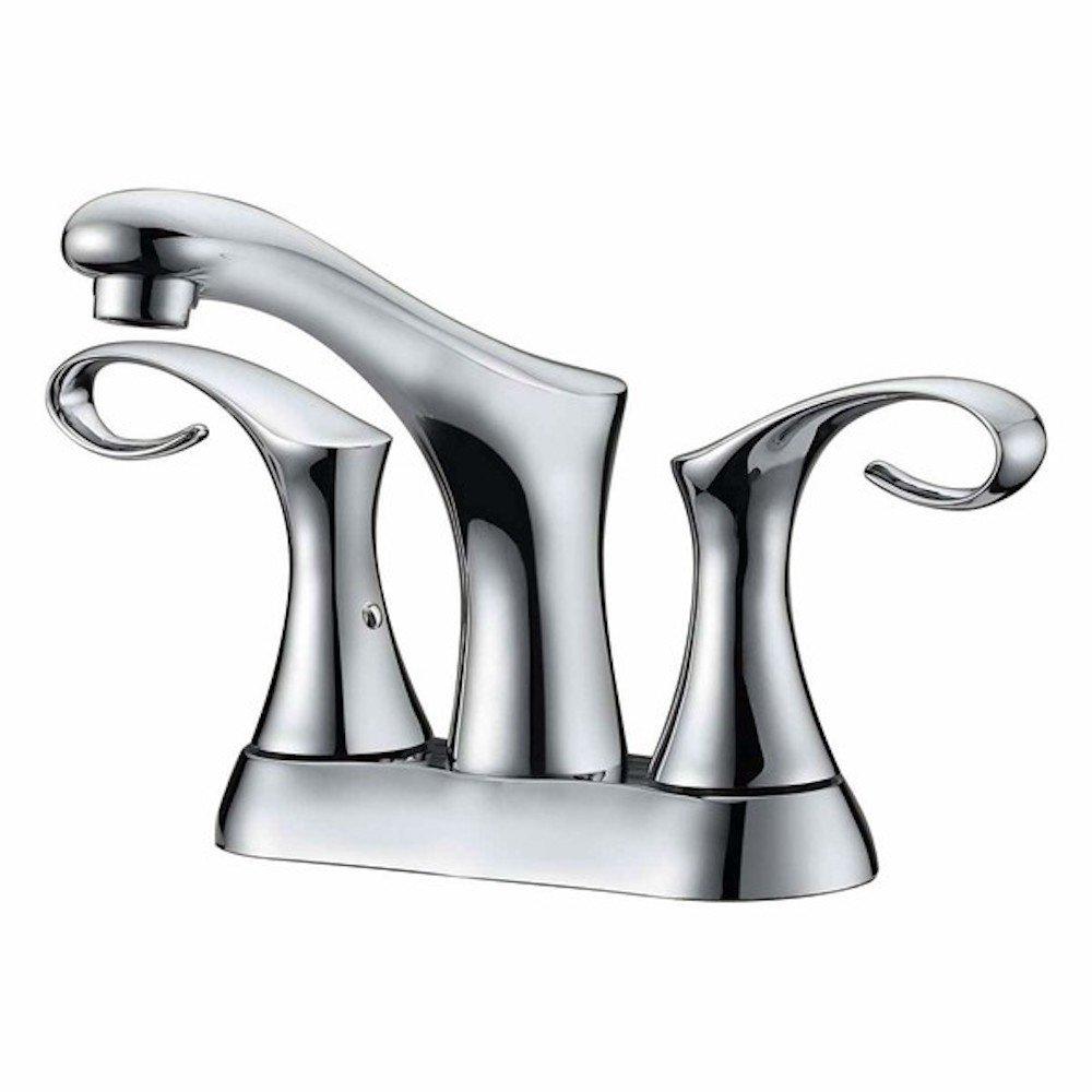 """Two-handle 4"""" centerset lavatory faucet"""