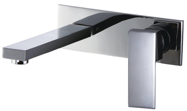 Single-lever concealed washbasin mixer