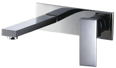 Single-lever concealed washbasin mixer