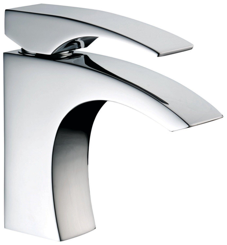 Single-lever lavatory faucet