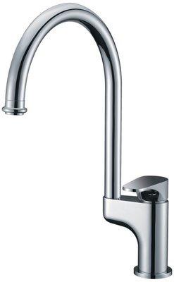 Single-lever kitchen faucet
