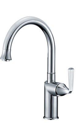 Single-handle lavatory/bar faucet