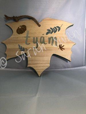 Ichiskiin (Yakama) Fall Cutting Board
