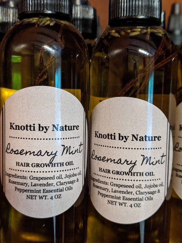 Knotti by Nature ROSEMARY MINT OIL