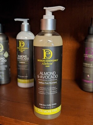 Design Essentials Almond & Avocado Sulfate Free Shampoo