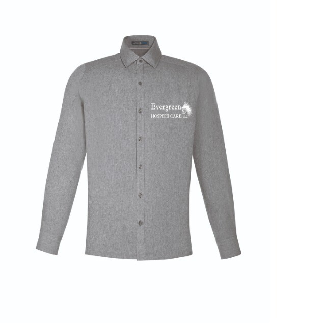 Men's Performance Shirt- Light Heather Grey
