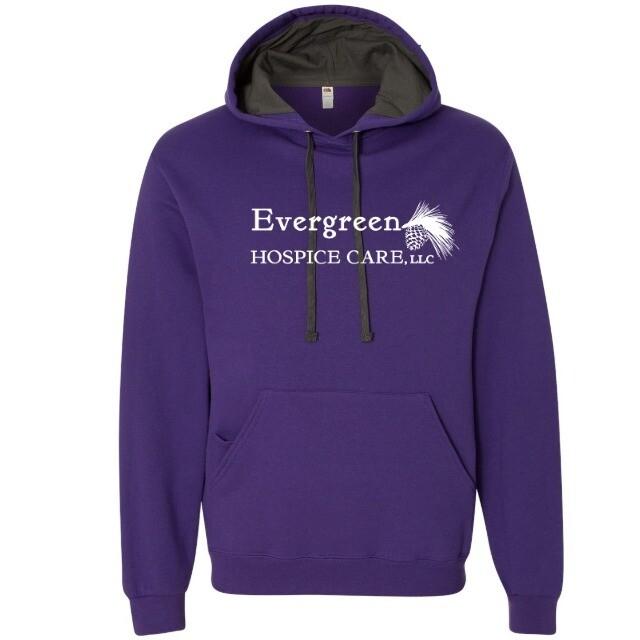 Unisex Sofspun Hooded Pullover Sweatshirt