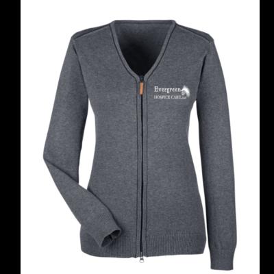 Devon & Jones Ladies' Manchester Full-Zip Sweater