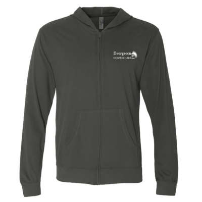 Next Level - Sueded Long Sleeve Hooded Full Zip