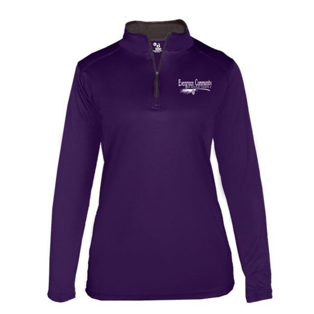 Badger - Women's B-Core Quarter-Zip Pullover