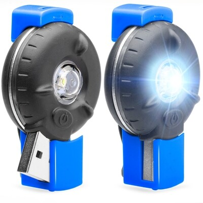 Bkin Smart Motion-Activated LED Personal Safety Light (2 Pack), Blue