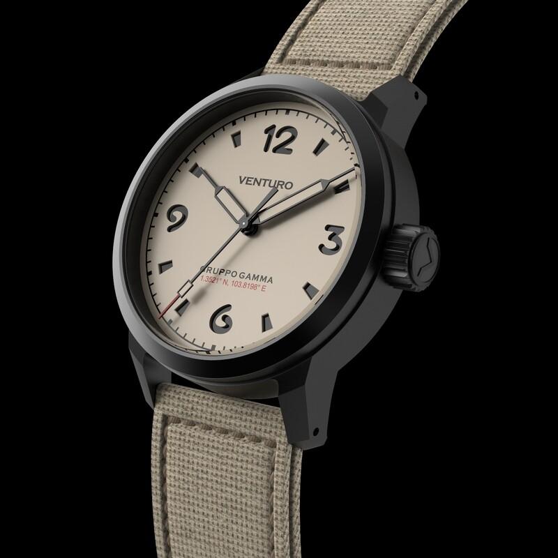 Venturo Field Watch #1 Crema PVD / Cream PVD SWAG LE