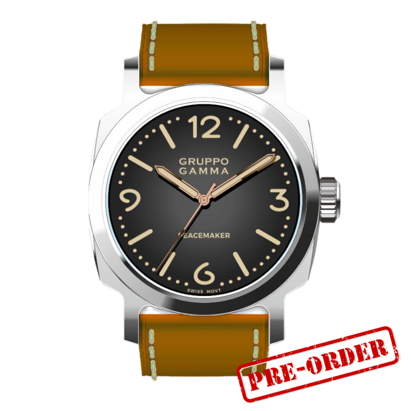 Gruppo Gamma Peacemaker PG-03 Steel Automatic Deposit