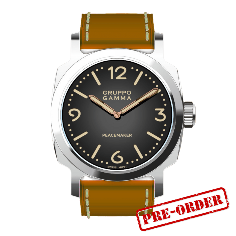 Gruppo Gamma Peacemaker PG-02 Steel Automatic Deposit