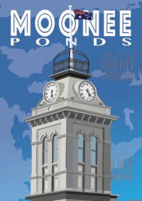 Melbourne - Moonee Ponds, Clock Tower