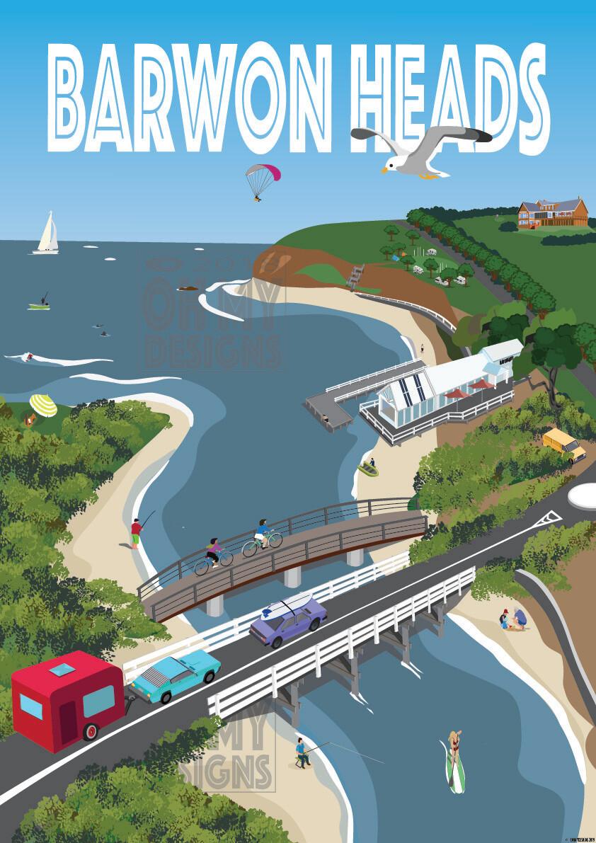 Barwon Heads - Aerial