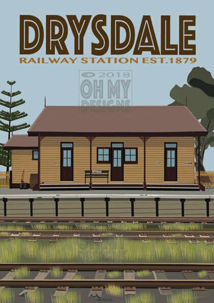 Drysdale - Railway Station