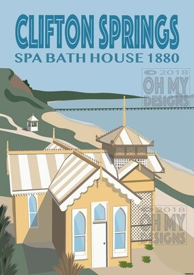 Clifton Springs - Spa Bathhouse