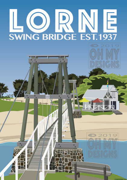 Lorne - Swing Bridge