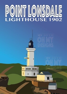 Point Lonsdale - Lighthouse, sunrise