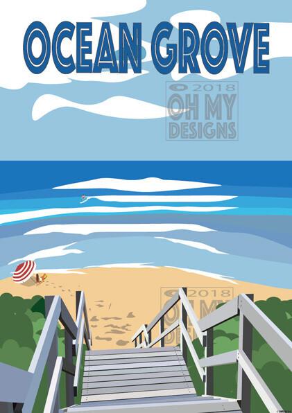 Ocean Grove - Stairs 1