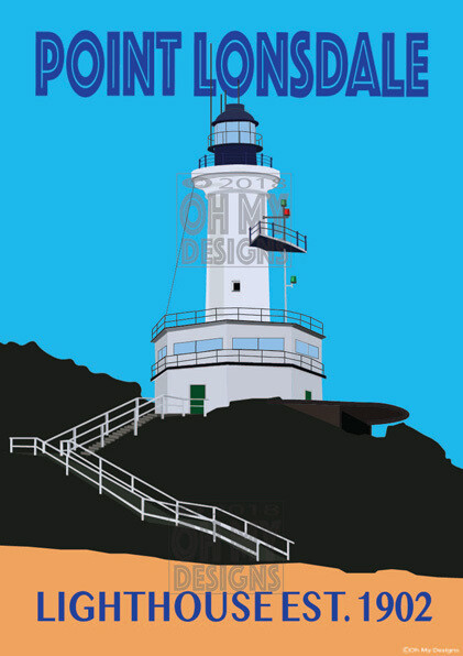 Point Lonsdale - Lighthouse, classic