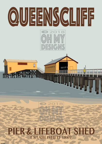 Queenscliff - Pier & Lifeboat Shed