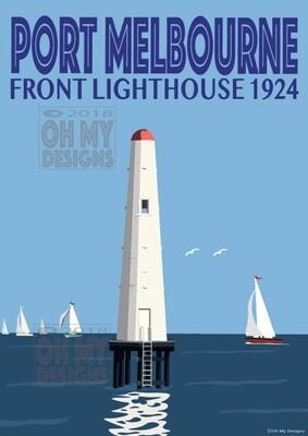 Melbourne - Port Melbourne Lighthouse