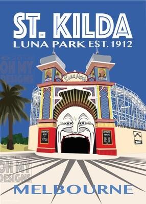 Melbourne - St Kilda, Luna Park