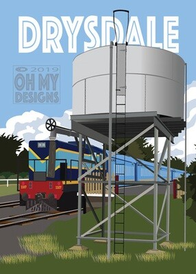 Drysdale-Train Water Tank