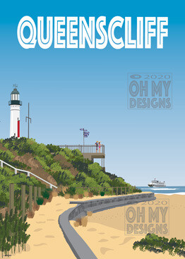 Queenscliff - White Lighthouse
