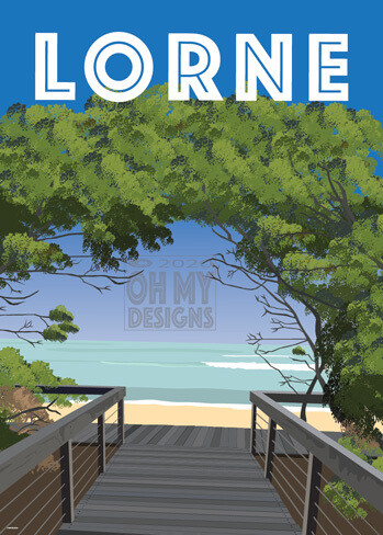Lorne Beach Walk