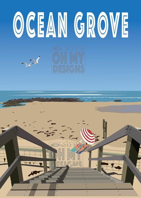 Ocean Grove - Stairs 2